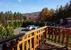 widok z balkonu domku 1 (najniżej położony)