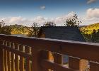 bajeczne widoki na góry z balkonów górnych dwóch sypialnie dwuosobowych